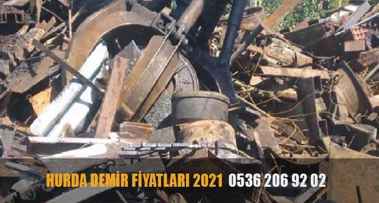 hurda demir fiyatları 2021