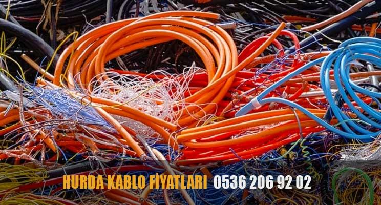 hurda kablo fiyatları 2021